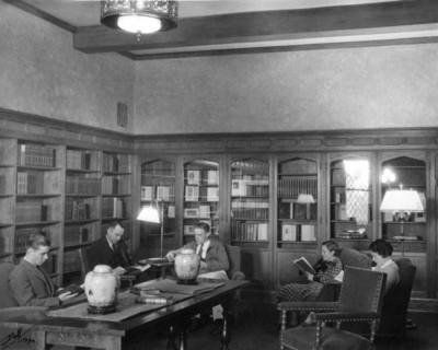 The McDonald Rare Books Room.