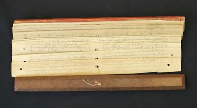 Balinese Bamboo Book.