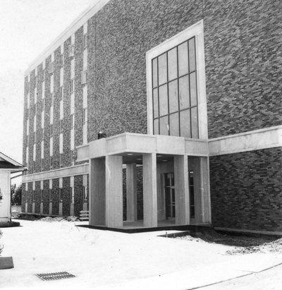 Nash Hall, 1970