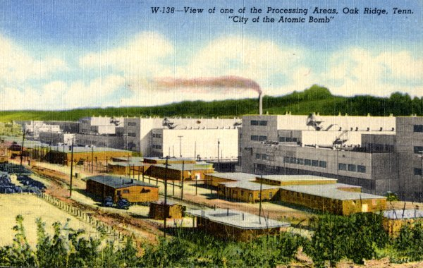"""""""A View of the Powerhouse in One of the Process Areas"""""""