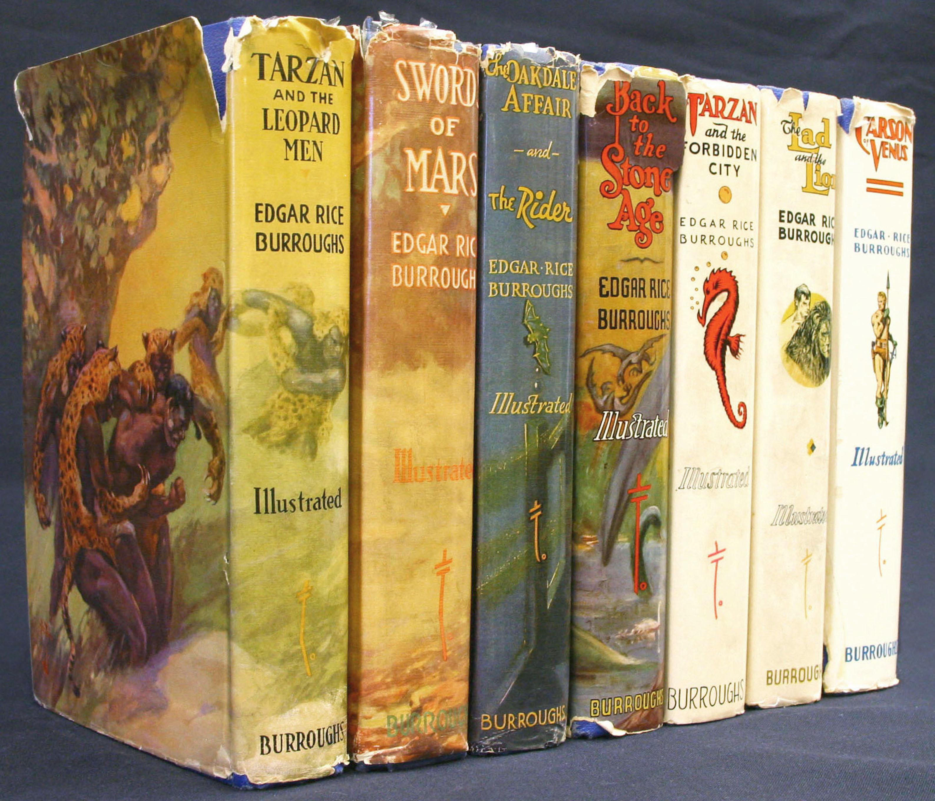 Order of Edgar Rice Burroughs Books