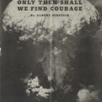 Only Then Shall We Find Courage