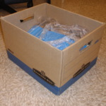 Box of Documents as Delivered