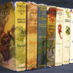 Seven first edition novels from Edgar Rice Burroughs.