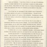 Typescript: Message of Professor Albert Einstein to the Radio Audience of Warner Brothers-Station KFWB, No Date