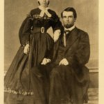 Sepia photograph of William Asa and Sarah Finley.