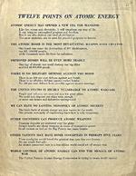 Twelve Points on Atomic Energy