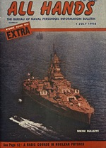 All Hands: The Bureau of Naval Personnel Information Bulletin. Atomic Bomb Test Extra