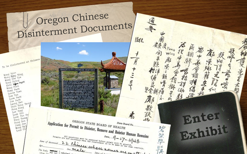 Title Image. Oregon Chinese Disinterment Documents
