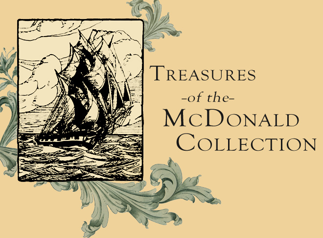 Title Image. Treasures of the McDonald Collection