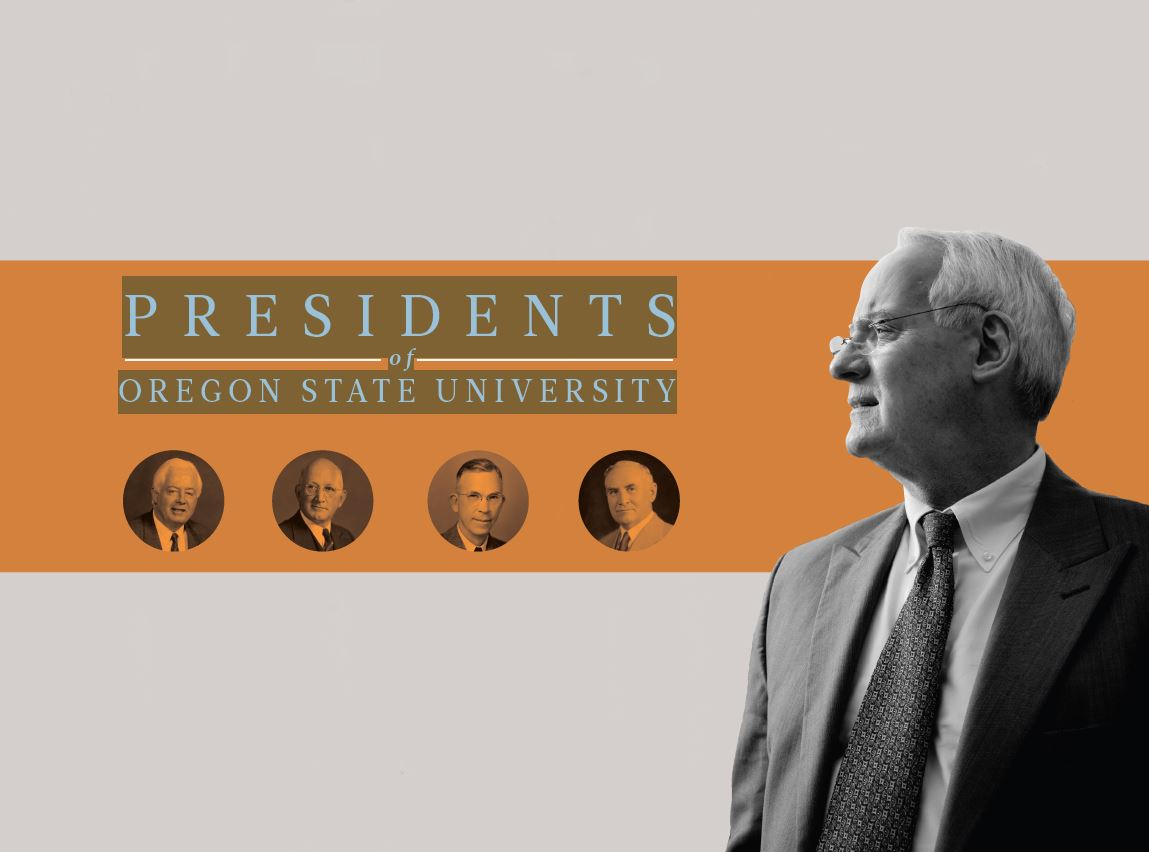 Title Image. Presidents of Oregon State University