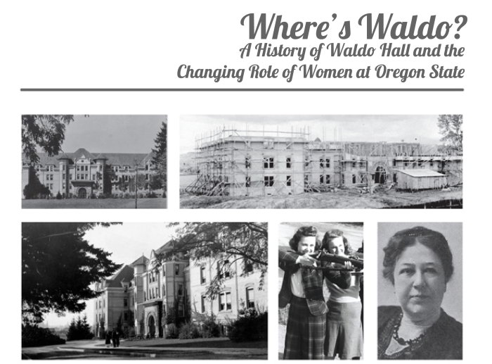 Title Image. Where's Waldo? Exploring Waldo Hall History