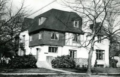 "Image of the Gamma Phi Betas ""Foster Home"" at 238 South 8th Street (8th and Jefferson), purchased in 1920."
