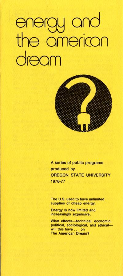 Brochure published by the Institute for Manpower Studies, 1976.