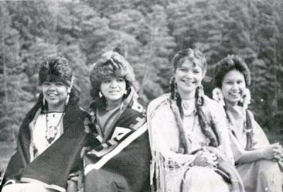 Image of Native American women extracted from the  magazine, Summer/Fall 1986.