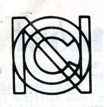 Oregon Nutrition Council logo, 1977.