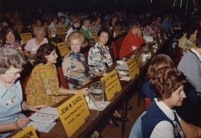 Image from a Rotary Club meeting, ca 1960s.
