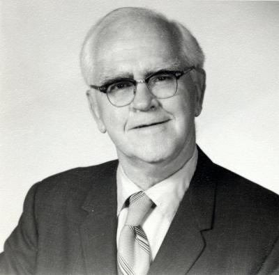 Portrait of Paul Emmett, ca. 1970s.