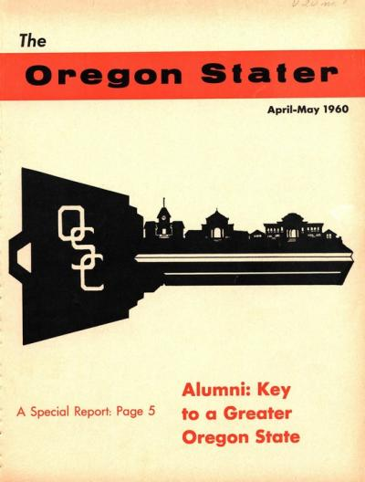 Oregon Stater, April-May 1960