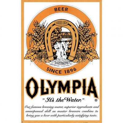 Olympia Brewing Company label