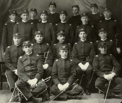 OAC Officers, 1904