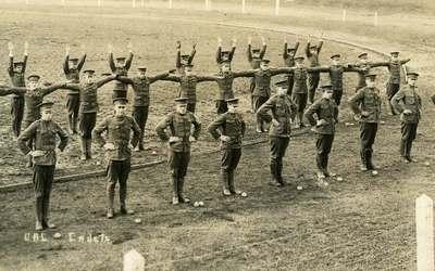 Military Calisthenics, ca. 1921