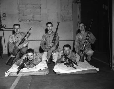 NROTC rifle team, 2nd National Hurst