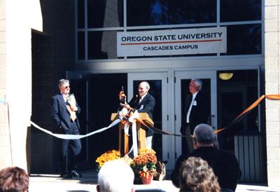 Dedication of Cascades Hall