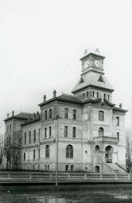 Benton County Courthouse, ca. 1890