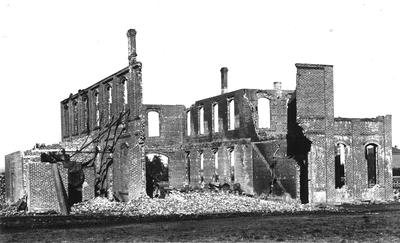 Ruins of Mechanical Hall