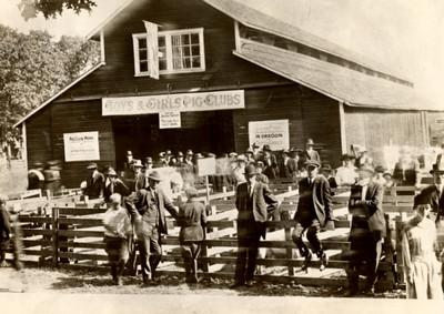 Pig Club Exhibit