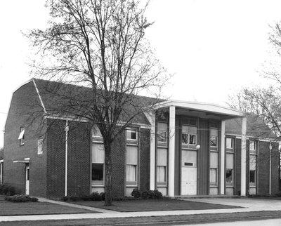 Reed Lodge, 1958
