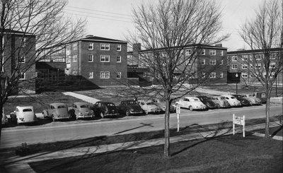 Sackett Hall, ca. 1948