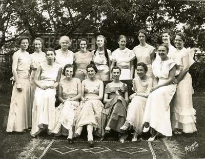 Mortar Board Society, 1933