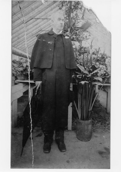 Black and white photograph of John McKnight Bloss.