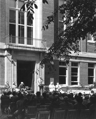 W.J. Kerr Library Dedication, 1954