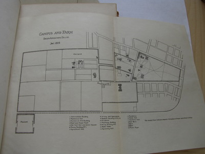 Map of Campus and Farm at Oregon Agricultural College, Jan. 1, 1909