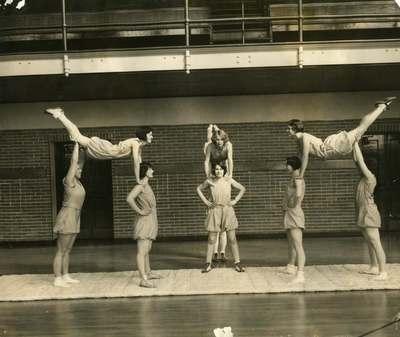Women's Gymnastics Team, ca. 1930s