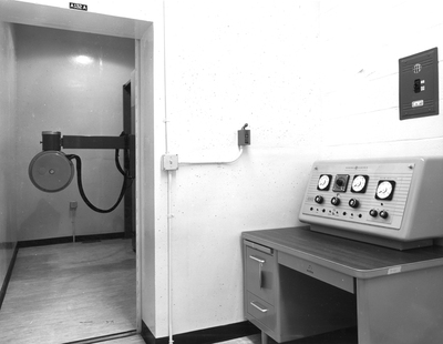 300 KVP X-Ray generator in the Radiation Center Building