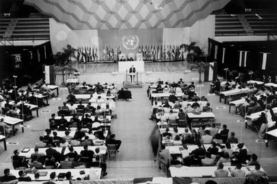 Model United Nations Opening Ceremony, 1956