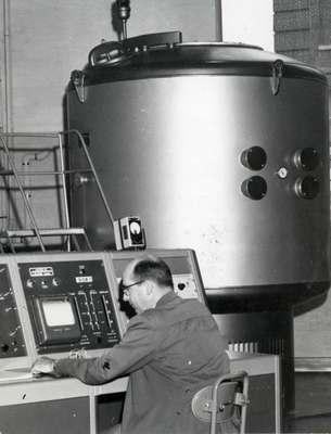 Dearborn Hall Nuclear Reactor, 1960