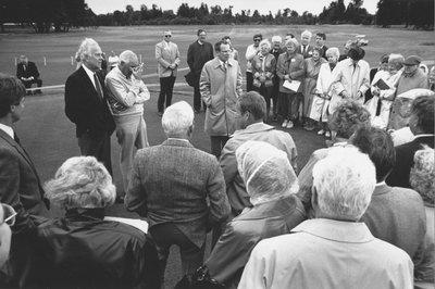 Trysting Tree Golf Club Dedication, 1988