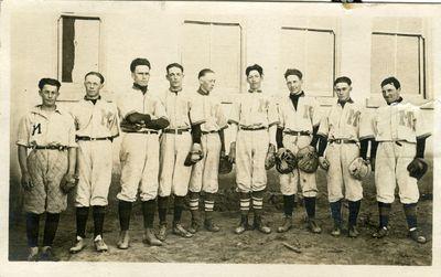 Moro High School baseball team