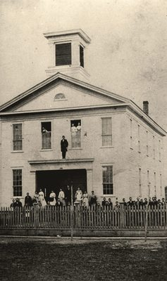 Old Corvallis College Building, ca. 1868