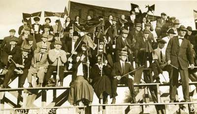 Junior Rooting Section, ca. 1910