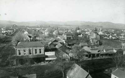 Aerial View of Corvallis, ca. 1890