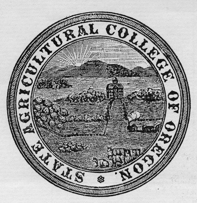 Seal of the State Agricultural College of Oregon