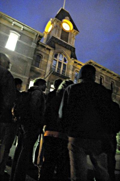 """Campus """"Ghost"""" Tour on Halloween"""