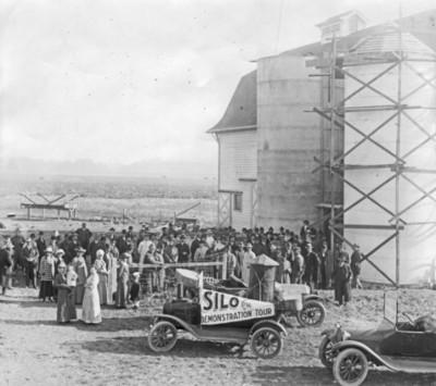 Silo demonstration tour, 1916