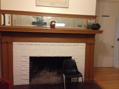Waldo Hall Fireplace